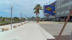 Daytona International Speedway Sunoco Stock Footage