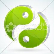 Yin yang Stock Illustration