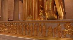 Nashville Parthenon Athena Tilt Up Stock Footage