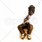 Black Music Man Stock Photos