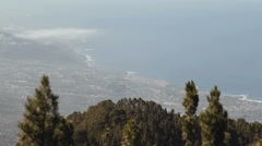Coastline of Tenerife Stock Footage
