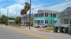 Residential homes in Daytona FL Stock Footage