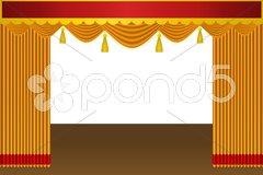 Theatre Stock Illustration