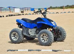 Small ATV rentals Stock Photos