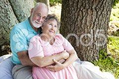 Senior Couple - Nostalgia Stock Photos