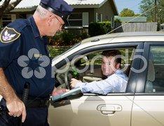 Police - Drunk Driver Guilty Stock Photos