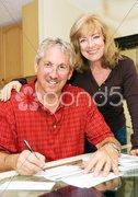 Mature Couple - Financially Secure Stock Photos