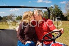 Romance on the Range Stock Photos