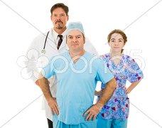 Super Medical Staff Stock Photos