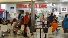 Gran Cafè Leonardo Stock Footage
