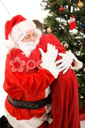 Santas Reward Stock Photos