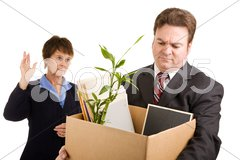 Corporate Downsizing Stock Photos