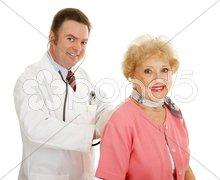 Senior Medical - Annual Physical Stock Photos