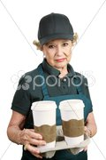 Senior Worker - Unable to Retire Stock Photos