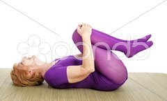 Senior Yoga - Limber Stock Photos