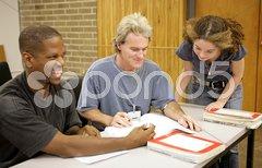 Adult Ed - Student Diversity Stock Photos