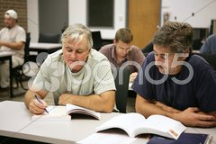 Career Training at Any Age Stock Photos