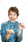 Fortune Cookie Surprise Stock Photos