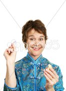 Fun Fortune Cookie Stock Photos