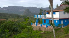 An attractive home or estate in the jungles of Cuba. Stock Footage