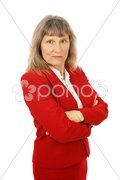 Angry Mature Businesswoman Stock Photos
