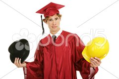 Graduate - Confused by Career Choices Stock Photos