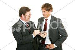 Mentor Series - Getting Along Stock Photos