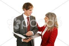 Mentor Series - Good Work Stock Photos