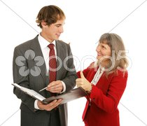 Mentor Series - Thumbsup Stock Photos