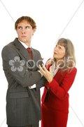 Mentoring Series - Stubborn Employee Stock Photos