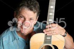 Happy Musician Stock Photos