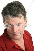 Mature Man Intense Stock Photos