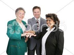 Diverse Business Team - Unity Stock Photos