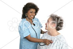 Friendly Medical Care Stock Photos