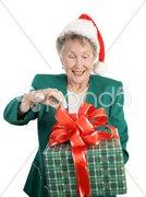 Holiday Anticipation Stock Photos