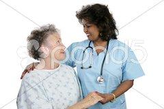 Patient & Nurse Stock Photos
