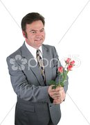 Roses for a Date Stock Photos