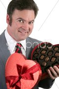 Thanks for the Chocolates! Stock Photos