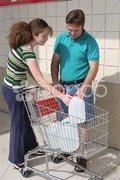 Hurricane Preparedness or Recycling Stock Photos