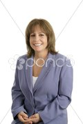 Smiling Businesswoman Portrait Stock Photos