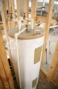 Water Heater Installed Stock Photos