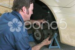 Disc Brake Adjustment Stock Photos