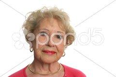 Beautiful Senior Woman Stock Photos