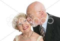Kisses & Giggles Stock Photos