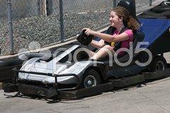 Go Cart Girl Stock Photos