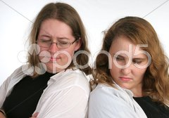 Sibling Rivalry Stock Photos