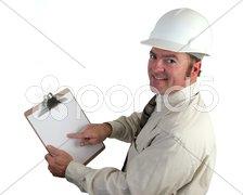 Construction Supervisor Happy Stock Photos