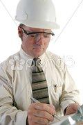 Safety Engineer Closeup Stock Photos