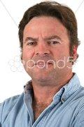 Regular Guy - Concerned Stock Photos
