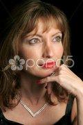 Elegant Beauty - Wistful Stock Photos